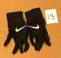 NEW Nike Swoosh Dri-Fit Tempo Run Women's Size M Athletic Running Gloves Black