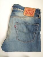 LEVIS 504 JEANS MENS REGULAR STRAIGHT LEG W36 L32 MID BLUE STRAUSS LEVJ974 #