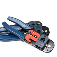 RJ45 CAT 5/5E/6 CRIMPING CUTTING STRIPPING TOOL RJ45 CABLE RJ45 CONNECTORS