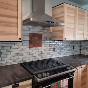 Celtic Tree of life - Handmade Tile. Material - 100% Copper, Stainless Steel or