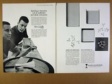 1962 Los Angeles Furniture Mart designers Peter Pepper story ALCOA vintage Ad