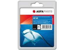 AGFA PHOTO HP 45 51645 ae .DJ-710C deskjet 990 TINTA BK 42ml negro mercancía