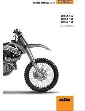 KTM 250 SX-F XC-F Service Repair Maintenance Workshop Manual 2015 [***PDF***]