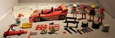 Vintage Playmobil Set #3147 Near Complete Race Car