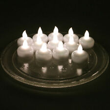 24pcs Waterproof Floating Battery LED Tea Lights Flameless Wedding Party Candles