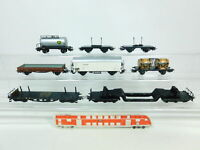 BR484-1 #7x Märklin H0 / Ac Wagon de Marchandises: 4510 Bordeaux + Bp + 313/1 +