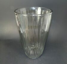 "Wide Mouth Clear Glass 10""H Vase For Large Stemmed Flower / Floral Arrangments"