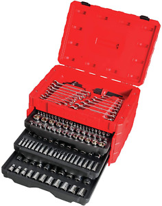 CRAFTSMAN Mechanics Tool Kit, 224-Pc., 3 Drawers Tool Box Durable CMMT12038 NEW