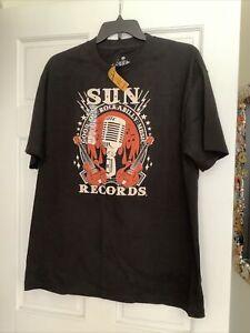 "Retro Sun Records "" Good Ol' Rockabilly Music "" Men's XL T-Shirt"