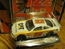 "Ward Burton - 2000 #22 - ""CAT Dealers"" White Car - 1:64 Racing Champions"