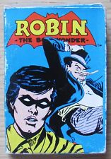 CARD GAME WHITMAN - ROBIN - DC COMICS 1978 - 36 CARTE IN SCATOLA ORIGINAL -RARE*