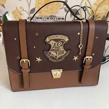 Harry Potter Brown Satchel Style Bag Handbag With Shoulder Strap by Primark new