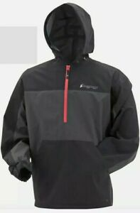 Frogg Toggs Pilot Technical Hoodie large. Black/carbon