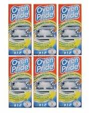 6 x Oven Pride Oven Cleaning Kit 500ml - Includes Bag for Cleaning Oven Racks