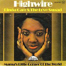 "7"" LINDA CARR (en la cuerda floja) Highwire 45 SPANISH PS 1975 MODERN SOUL"