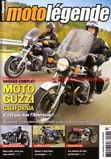 MOTO LEGENDE 190 GUZZI CALIFORNIA 850 T3 YAMAHA 250 YD2 KAWASAKI KZ 400 MATCHLES