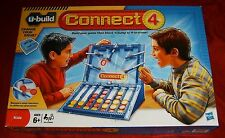 2010 BOARD GAME HASBRO U-BUILD CONNECT 4. AGE 6+ GREAT GAME
