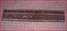 A 19th Century 8 Feet Long Agra Border Rug Fragment