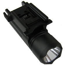 Tactical Flashlight , 180 Lumen LED , FOR GLOCK, Fits Weaver or Picatinny Rails