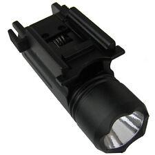 Tactical Flashlight , 180 Lumen LED , FOR GLOCK, Fits Weaver or Picatinny Rails