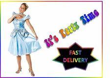 Disney Cinderella Storybook Princess Adult Ladies Fancy Dress Costume Medium