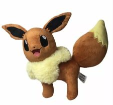 Tomy Pokemon Eevee Standing Plush Toy Stuffed Animal 2017 11""