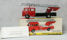Dinky 956 Turntable Fire Escape Metallic Red Black Platform  Near Mint Boxed