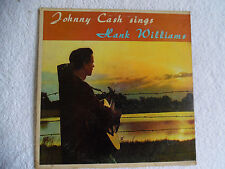 "Johnny Cash Sings Hank Williams DT-91284 Sun Records 33-1/3 RPM 12"" 198-2K"