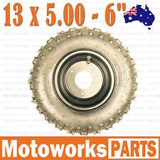"13 x 5.00 - 6"" Inch Tire & Rim Wheel ATV QUAD Bike Gokart 4 Wheeler Buggy Mower"