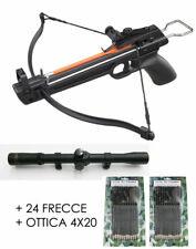 Balestra Sportiva 50 libbre + Ottica 4x20 + 24 frecce