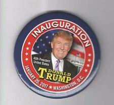 #8  2017 pin DONALD TRUMP pinback INAUGURATION 45th PRESIDENT button January 20