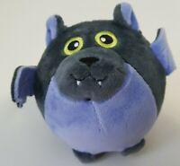 Small Squee-Zoo Plush Ball Halloween Dracula Bat NEW