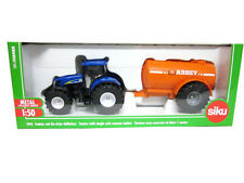 SIKU 1:50 TRATTORE CON BOTTE  TRACTOR WITH VACUUM TANKER ART 1945