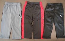 8ce709affba NEW JORDAN Toddler Boy Track Pants Therma Fit Black & Grey SIZE 2T ---