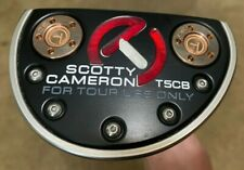 "Titleist Scotty Cameron 34"" Circle T T5CB Tour Only Putter HEAVY Copper Weights"