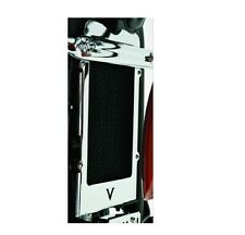 Kawasaki Vulcan 900 Chrome Radiator Cover - Fits 2007 - 2017 Vulcan 900's - New