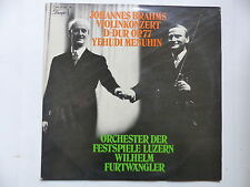 BRAHMS Violinkonzert D-DUR OP77  YEHUDI MENUHIN WILHELM FURTWANGLER 1C047 01239