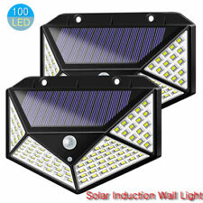 NEW Waterproof Solar LED Wall Light Outdoor PIR Motion Sensor Street Garden Lamp