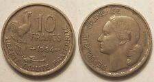 10 Francs Guiraud 1954 B, TTB !!