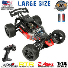 1:16 Scale 4WDRC Car Remote Control Truck High Speed Racing Buggy Crawler RTR