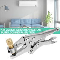 Air Conditioner 8.5'' Refrigeration Tube Plier Locking Tool Refrigerant