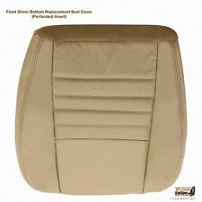 99-04 Ford Mustang GT V8 Convertible -Driver Side Bottom Leather Seat Cover Tan