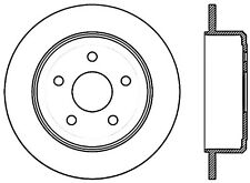 Disc Brake Rotor-Sport Drilled Disc Rear Left Stoptech 128.67067L