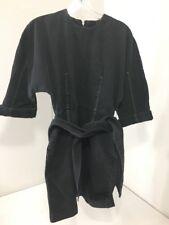 TOPSHOP WOMEN'S DOME DENIM DRESS CHARCOAL GRAY UK:8/US:4 NWT $110