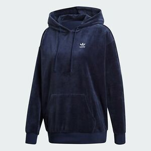 NEW  Adidas Originals Plus Velour Trefoil Hoodie Size 2X