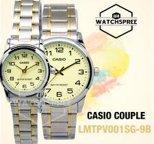 Casio Couple Watch LTPV001SG-9B MTPV001SG-9B