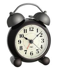 Analoger Wecker mit großer Doppelglocke und leisem Sweep Uhrwerk