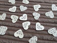 Heart Personalised Wedding Confetti