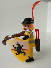 Playmobil Figure - Nicely dressed Yellow Archermen (Loose)