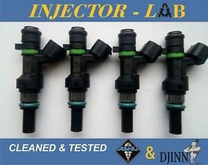 NISSAN 1.6 VERSA QASHQAI NOTE TIIDA  INJECTORS FBY1160  set of 4 CLEANED&TESTED